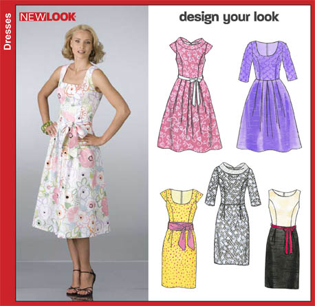 New Look Misses Dresses 6824