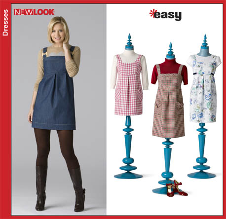 New Look Misses Easy Jumpers 6826