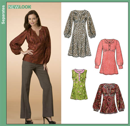 "Sewing Patterns Tunic Tops Tunic Sewing Pattern"" →"