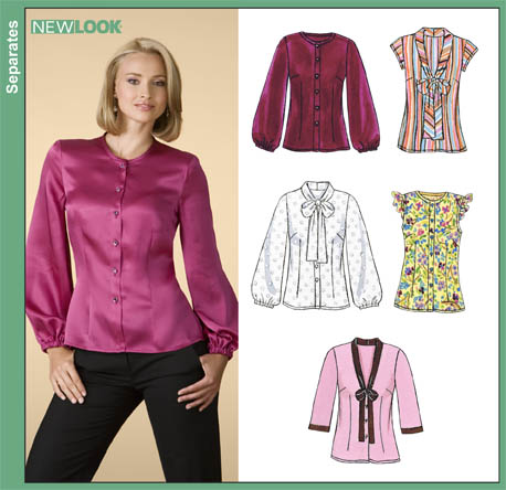 New Look Misses Blouses 6831