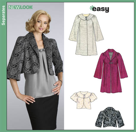 New Look Misses Easy Coats and Jackets 6832