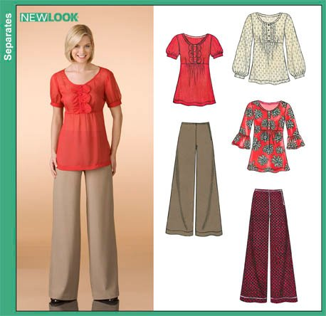 New Look Misses Tops and Pants 6836