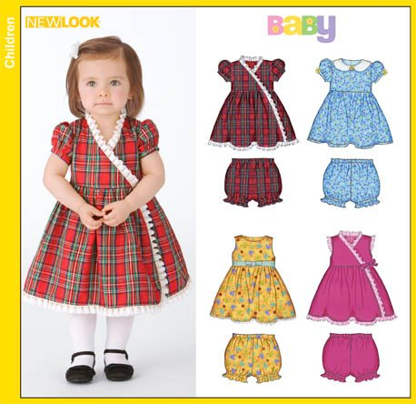 New Look  Babies Dresses and Panties 6842