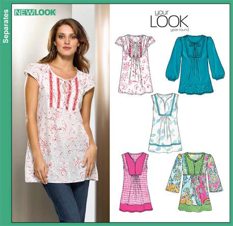 New Look  Misses Pullover Tunics 6851
