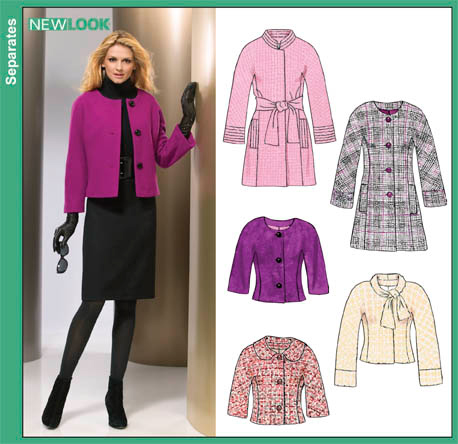 New Look   Misses Lined Coats and Jackets 6852