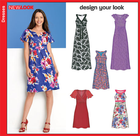 New Look Misses Dresses 6864