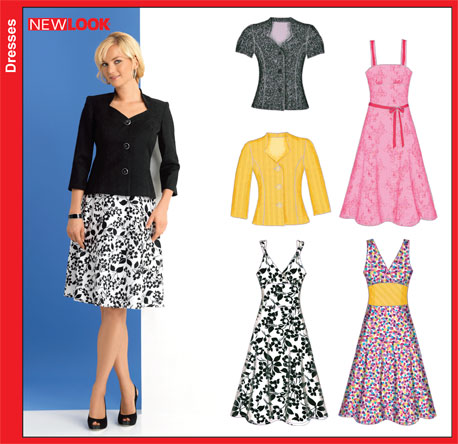 New Look Misses Dress and Jacket 6867