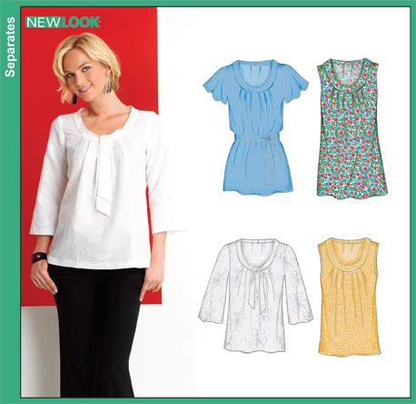 New Look Misses Tunic or Top 6868