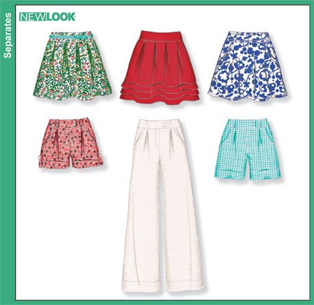 New Look Misses Skirts and Pants 6873