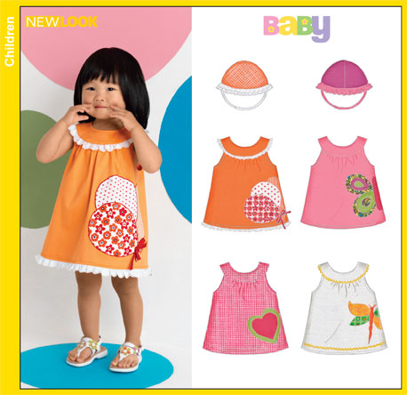 New Look Babies Sundress and Hat 6878