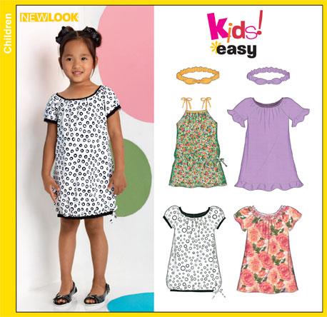 New Look Child Dresses, Bubble Dress and Headband 6882