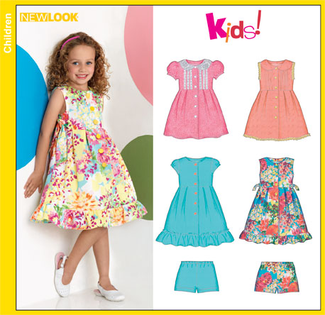 New Look Child Dresses 6884