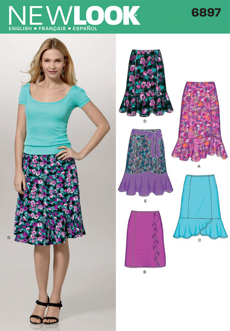 New Look Misses Skirts 6897