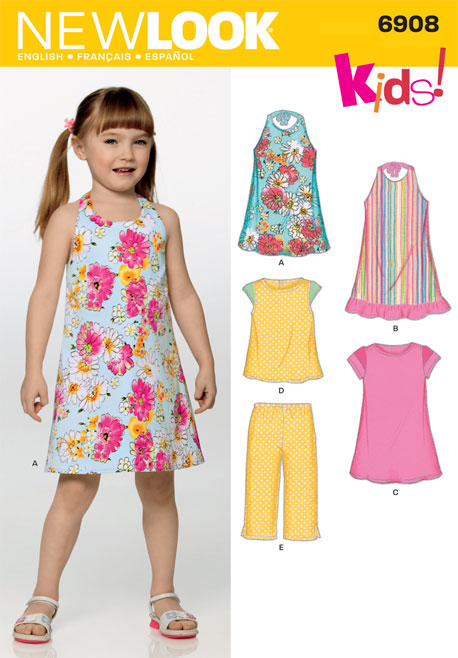 New Look Child Dress, Top and Pants 6908