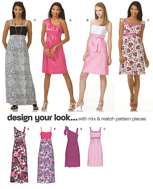 New Look Misses Dresses 6933