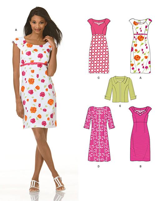 New Look Misses Dresses 6934