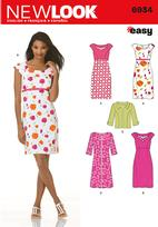New Look 6934 Pattern( Size 10-12-14-16-18-20-22 )