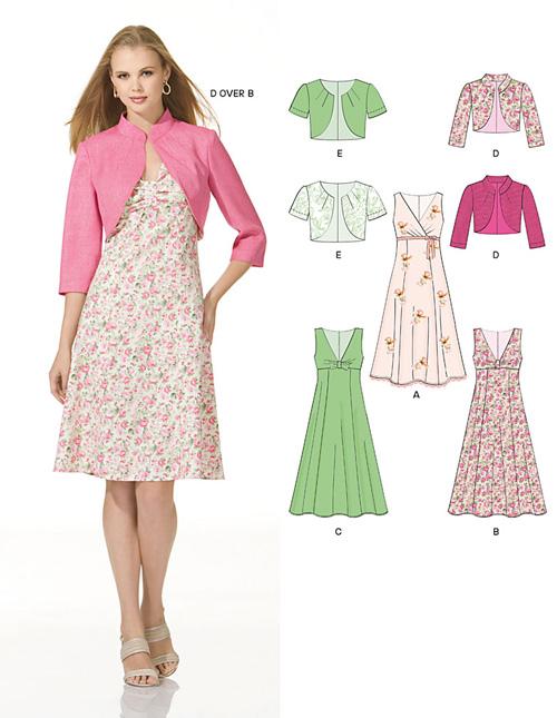 New Look Misses Dresses 6935