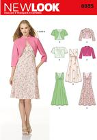 New Look 6935 Pattern( Size 8-10-12-14-16-18 )