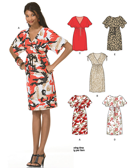 New Look Misses Dresses 6936