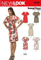 New Look 6936 Pattern( Size 8-10-12-14-16-18 )