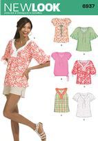 New Look 6937 Pattern( Size 10-12-14-16-18-20-22 )