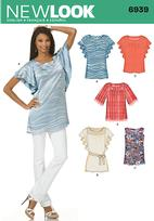 New Look 6939 Pattern( Size 8-10-12-14-16-18 )