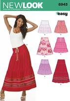 New Look 6943 Pattern( Size 8-10-12-14-16-18 )