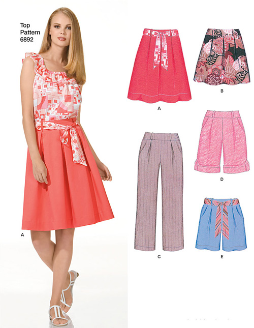 New Look Misses Skirts, Pants or Shorts 6946