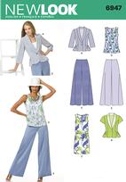 New Look 6947 Pattern( Size 8-10-12-14-16-18 )