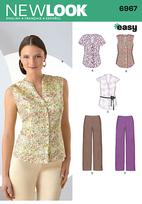 New Look 6967 Pattern( Size 8-10-12-14-16-18 )