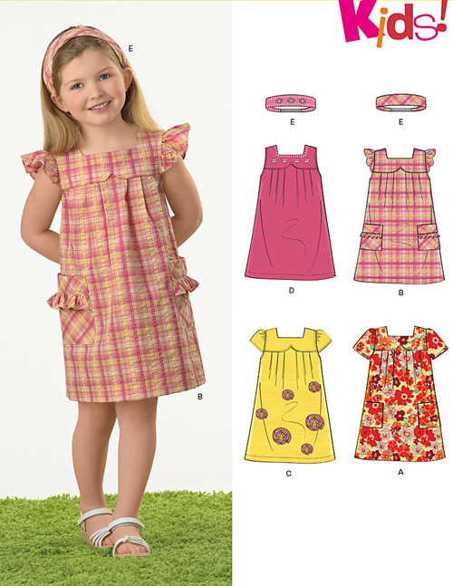 New Look Children's Dresses & Headband 6972