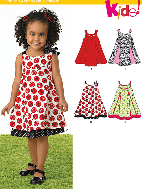 New Look Toddlers' Dresses 6974