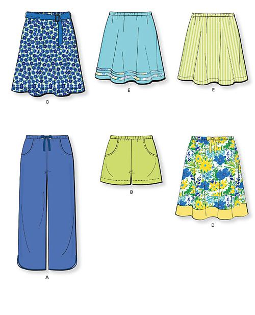 New Look Misses Skirts, Shorts & Pants 6975