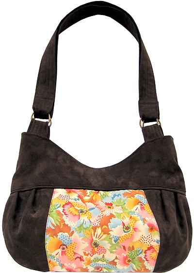 You Sew Girl Panel Bag B1020