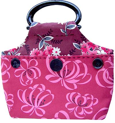 You Sew Girl Curved Flat Bag BO321