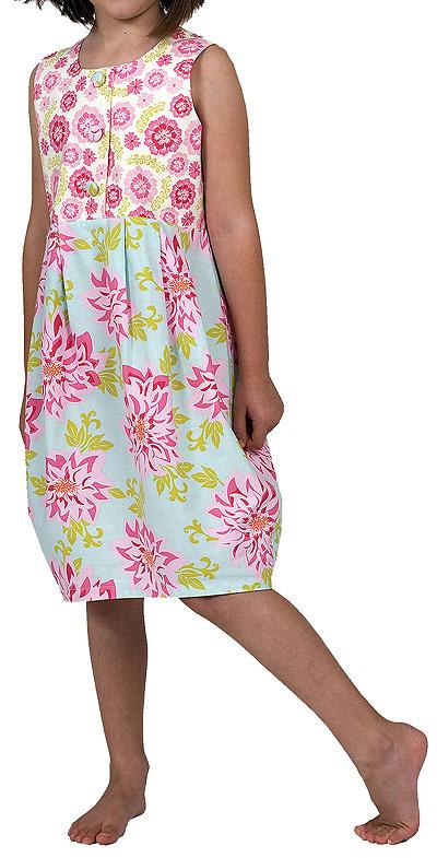You Sew Girl Tulip Dress C0901