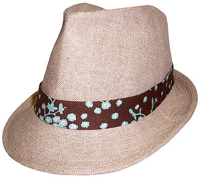 You Sew Girl Fedora HO901