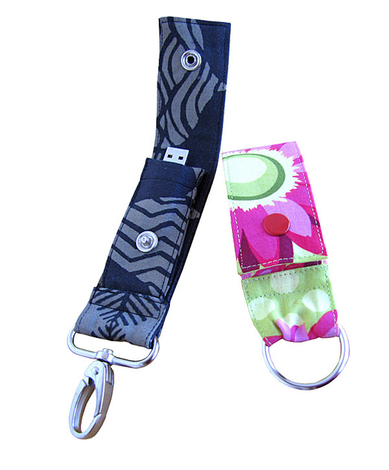 You Sew Girl USB Fob Downloadable Pattern USB Fob