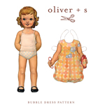 Oliver   S Bubble Dress Digital Pattern( Size birth - 24m )