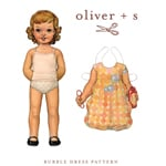 Oliver + S Bubble Dress Digital Pattern( Size 2T-5 )