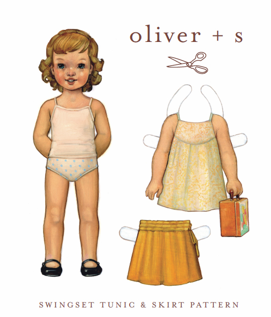 Oliver + S Swingset Tunic and Skirt OS004SS