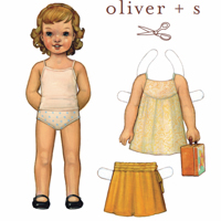 Oliver + S Swingset Tunic and Skirt Digital Pattern (0-24M)