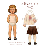 Oliver   S 2   2 Blouse & Pleated Skirt Digital Pattern ( Size 6m-3T )
