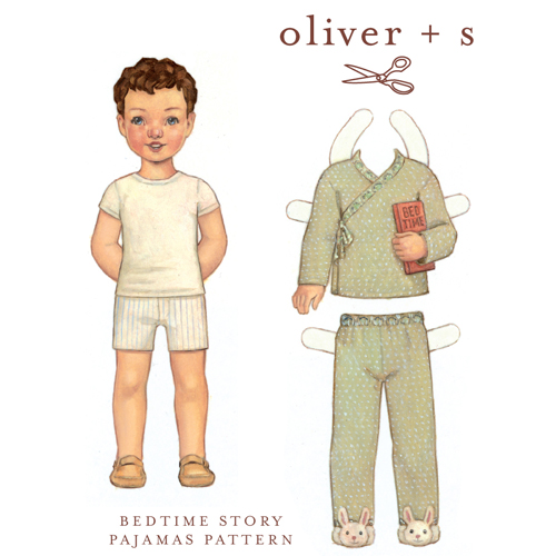Oliver + S Bedtime Story Pajamas OS008BT