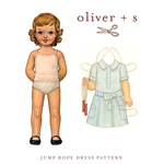 Oliver + S Jump Rope Dress Digital Pattern( Size 6m-3T )