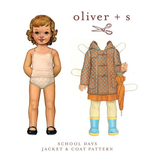 Oliver + S School Days Jacket & Coat OS013SD
