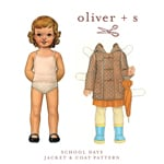 Oliver   S School Days Jacket & Coat Digital Pattern( Size 6m-3T )