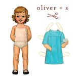 Oliver + S School Photo Dress Pattern ( Size 6m-4 )