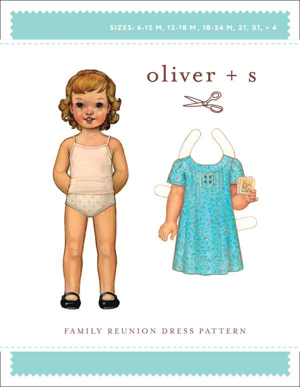 Oliver + S Family Reunion Dress OS023FR